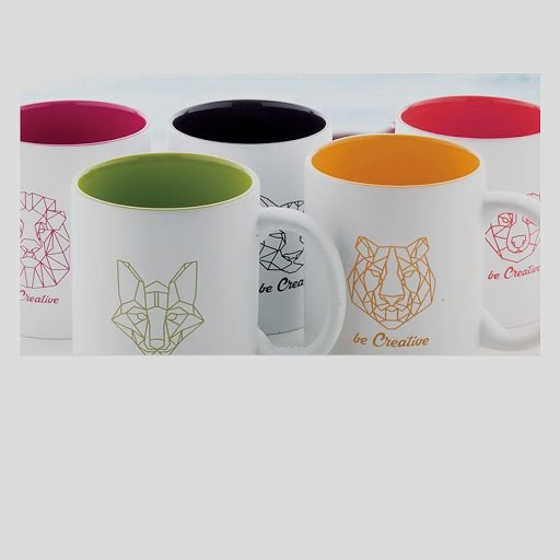 Coloured Engraved Ceramic Mugs