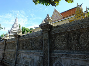 Photo: Wall of the Wat