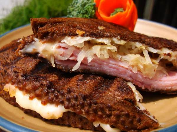 Grilled Reuben, Southern Style