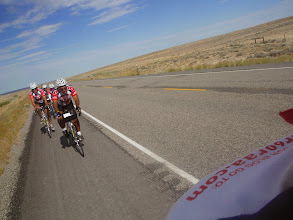 Photo: Day 20 Riverton to Casper WY 120 miles, 2500' climbing: Looking back