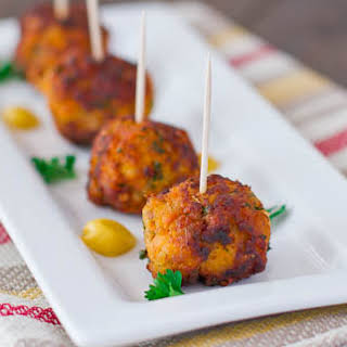 Sweet Potato Turkey Meatballs.
