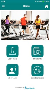 GYM Trainer Demo APP- screenshot thumbnail