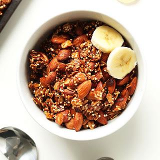 7 Ingredient Quinoa Granola