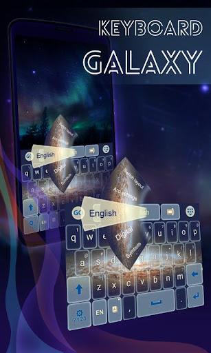 键盘银河主题