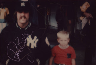Photo: Ron Blumberg and me in the 70s.