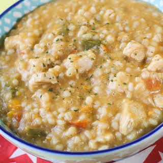 Vegetable Pearl Barley Risotto.