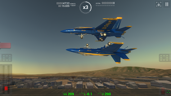 Blue Angels: Aerobatic Flight Simulator- screenshot thumbnail