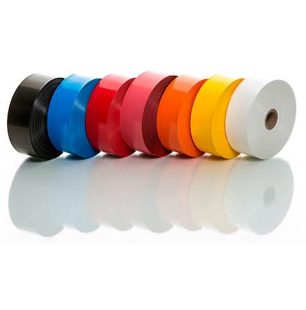 Plastband 30mmx100m röd