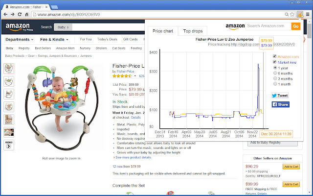 digdrop - Amazon price drops digger
