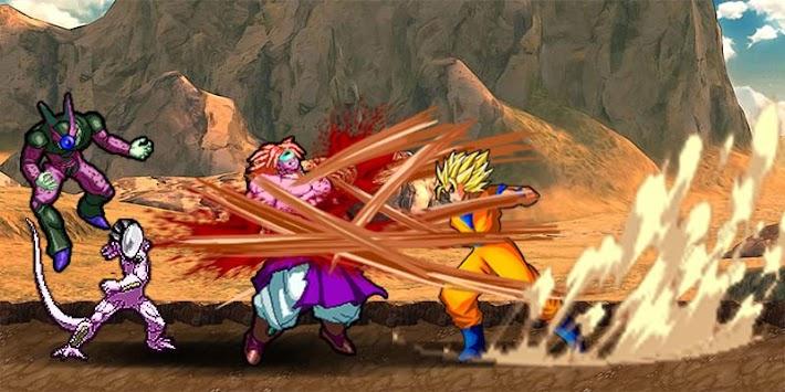 goku saiyan strike apk screenshot