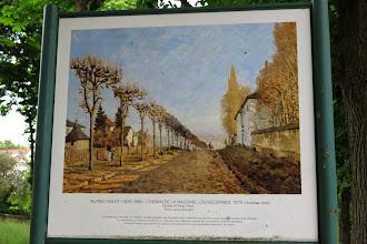 Photo: Chemin de la Machine en 1873