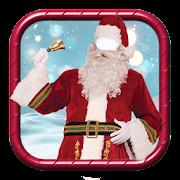 Weihnachtsmann Kostüme Fotomontage