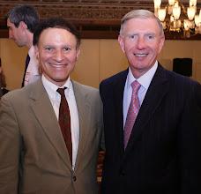Photo: Judge Gary Katzmann (MA Appeals Court) and BBA President Paul Dacier.