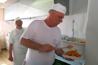 Photo: Francis et Francis pour que vous ayez la frite !