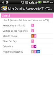 madrid metro route planner google play のアプリ