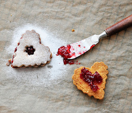 Photo: Name : Melia Blog : Confessions of a spoon              Title : Linzer cookies URL of the post : http://confessionsofaspoon.blogspot.com/2012/12/linzer-cookies-one-of-christmas-classics.html#more Location : Bulgaria, Europe Camera Nikon d90