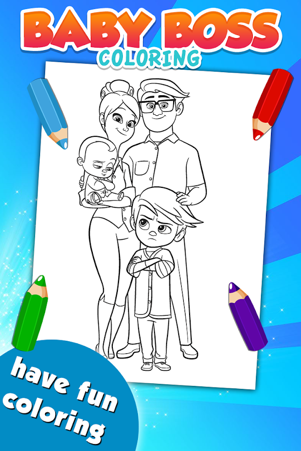 Baby Boss Coloring Game - Android Apps on Google Play