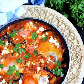Roasted Eggplant Shakshuka Recipe