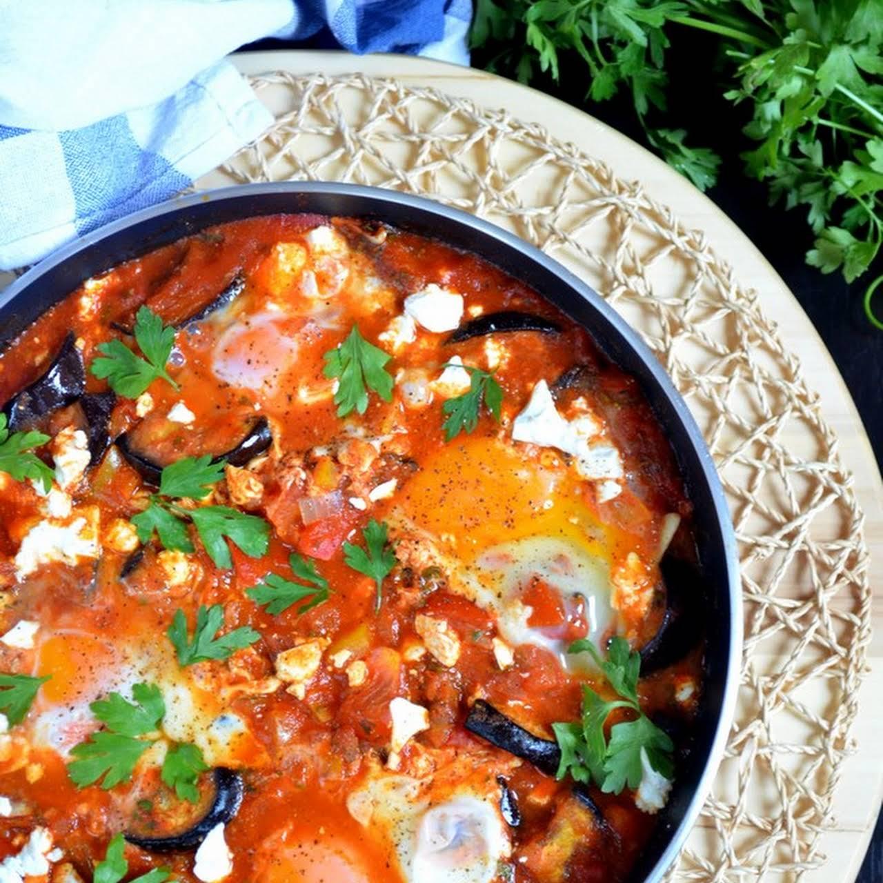 Roasted Eggplant Shakshuka