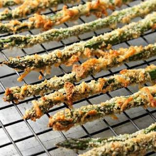 Baked Parmesan Asparagus Fries.