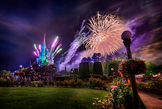 Photo: The Secret Fireworks Spot at Disney  - This spot is over in the Rose Garden -- a wonderful spot that hardly anyone knows about!  from Trey Ratcliff at http://www.StuckInCustoms.com