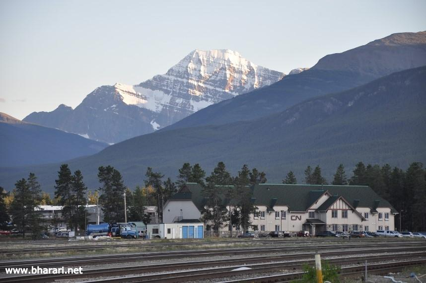 View from Jasper Town