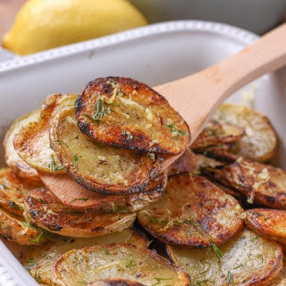 Grilled Lemony Dill Potato Salad.