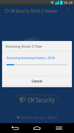 Struts 2 Web Server Scanner screenshot 2