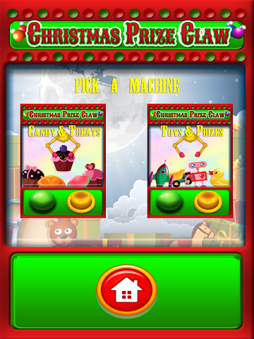 android Christmas Prize Claw Kids FREE Screenshot 1