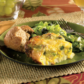 Easy Cabot Cheese Frittata.