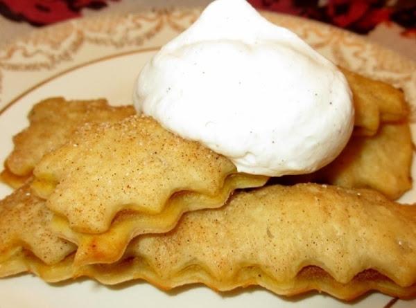 Pumpkin Pie Sticks With Spiced Whipped Cream Recipe