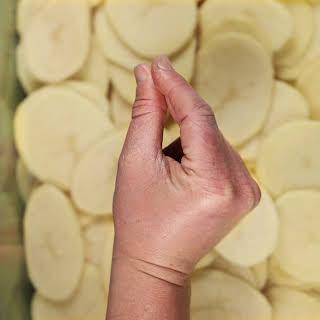 Smothered Pork Chop And Scalloped Potato Casserole.