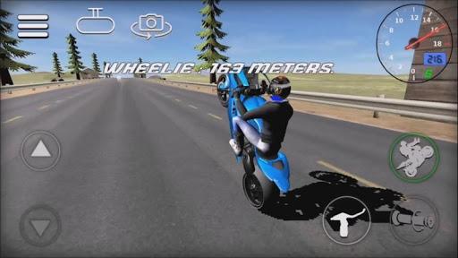 Wheelie Rider 3D - Traffic rider wheelies rider 1.0 screenshots 3
