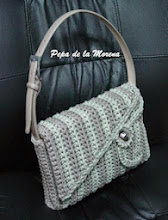 Photo: Bolso-cartera de ganchillo