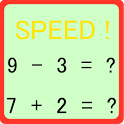high speed calculation icon