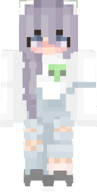 nova skin minecraft leia anime girl