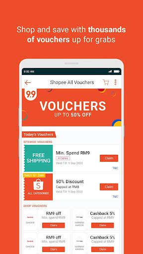 Shopee MY: 9.9 Shopping Day 2.60.07 Screenshots 6