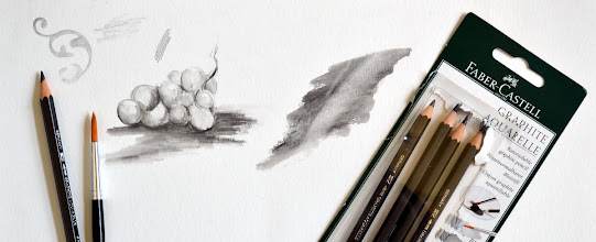 Photo: Faber-Castell Graphite Aquarelle (water soluble graphite) http://www.parkablogs.com/node/12013
