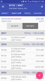 Dividends Dashboard - náhled