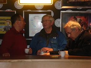 Photo: Beheerder Park Maasduinen bied alle wandelaars een gratis bakje koffie aan.  Onze dank daar voor.