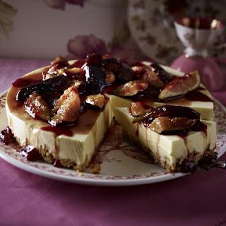 Mango and Fig Yogurt Cake