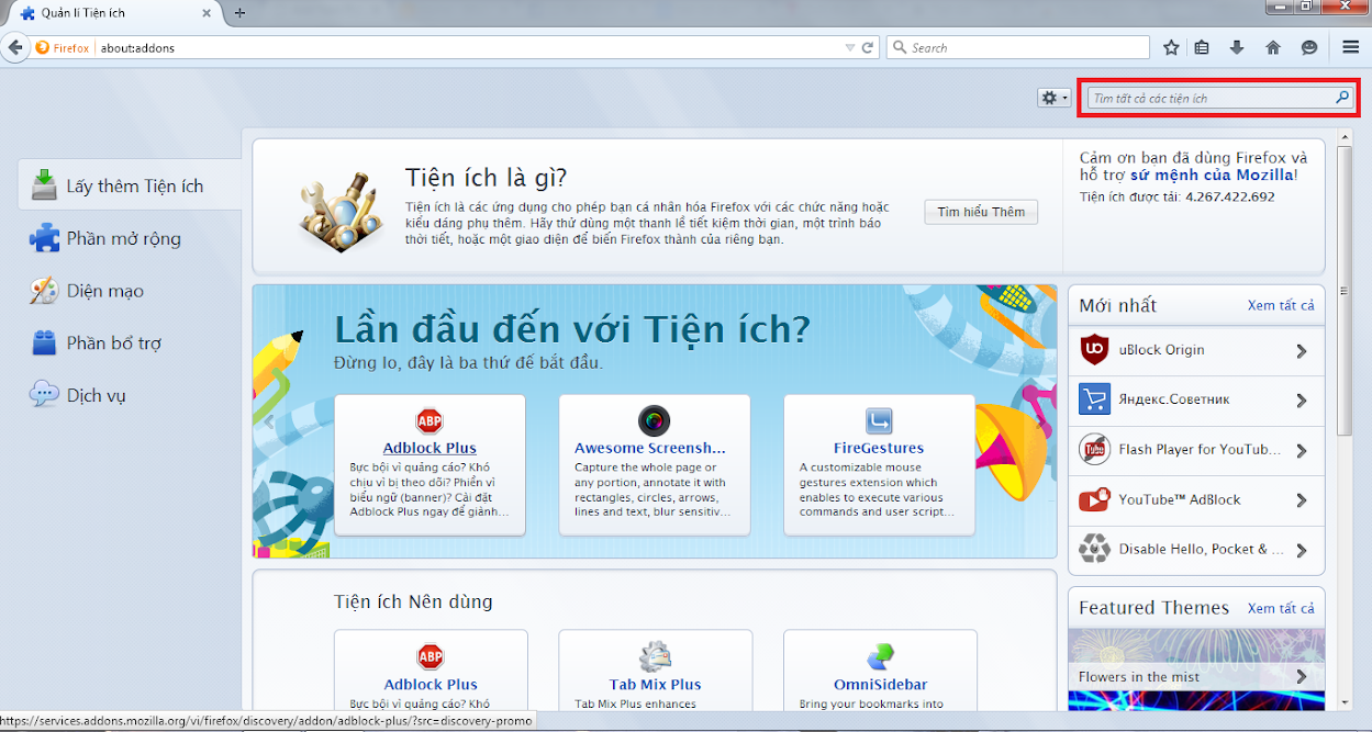 Tiện ích dịch thuật cho Chrome và Firefox