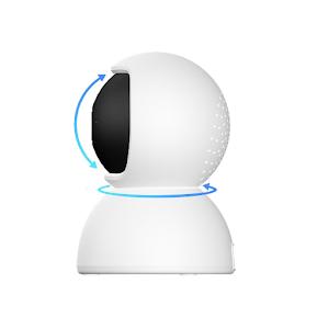 Camera de supraveghere IP Wireless V380 Pro, unghi 360 grade