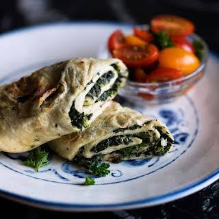Spinach Tortilla Roll-Ups.