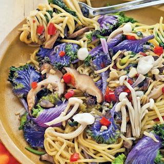 Ramen Noodles with Kale