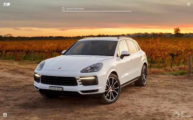 Porsche Cayenne HD Wallpapers New Tab Theme