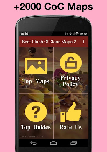 Best clash of clans maps 1.0 screenshots 2