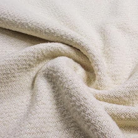 Ulltyg Struktur - vit/off white