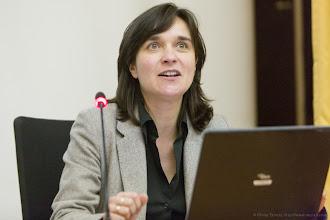 Photo: Nathalie Drach-Temam, vice-présidente insertion professionnelle, université Pierre et Marie Curie- Photo Olivier Ezratty