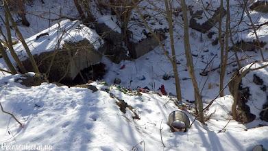 Photo: Дот 552 взорван, свалка.